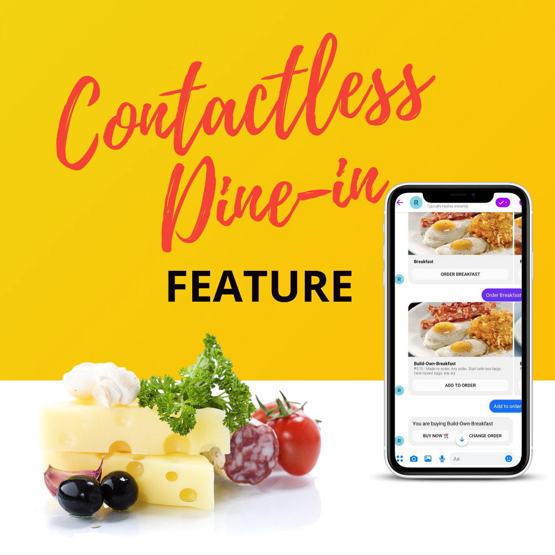 contactless dine in for restaurant chatbots